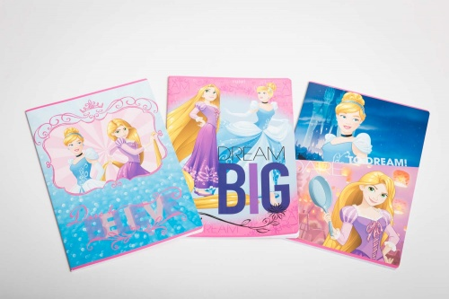 Bloc-notes Disney Princess rifling 10mm