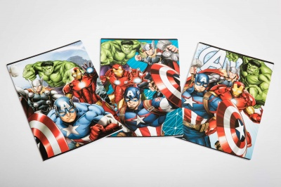 Quaderni Marvel Avengers Rigatura 10 mm